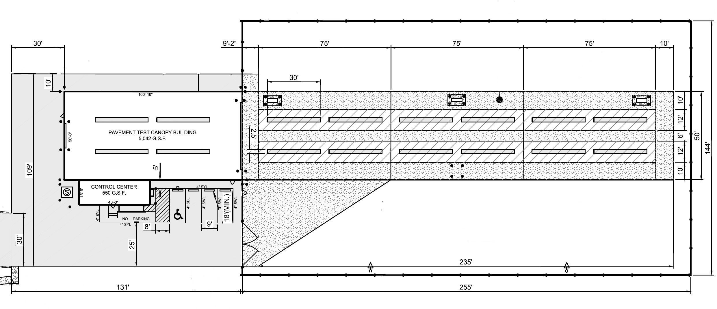 RUAPTF Facilities - Layout