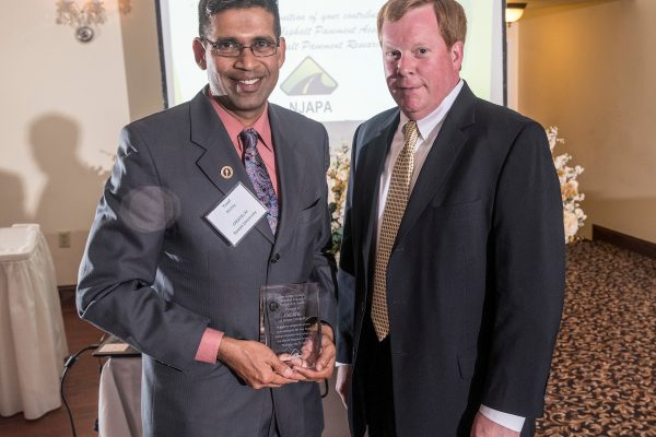 CREATEs Receives NJ Asphalt Pavement Association Partnership Award